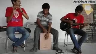 Modhu Koi Koi Bish Khawailaa on Flute by MiTHUN   Instrumental   Banglar Banshi 