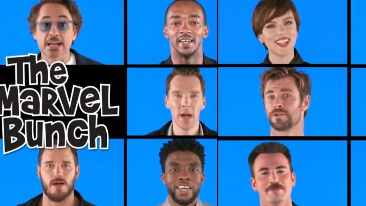 'The Marvel Bunch' in a new way|| Robert downey jr||Chris Hemsworth|| Chris Evans||Chris pratt||🔥🔥🔥