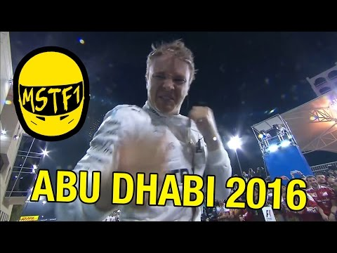 2016 Abu Dhabi Grand Prix – Mystery Science Theater F1