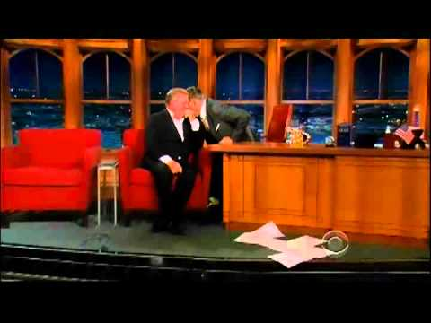Craig Ferguson 6/26/12D Late Late Show William Shatner XD