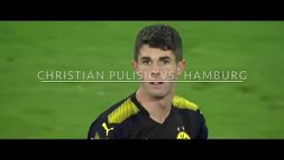 Christian Pulisic vs Hamburg (20/09/17) Unreal Pace!!!
