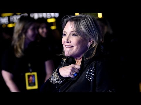 """Star Wars"" icon Carrie Fisher suffers heart attack"