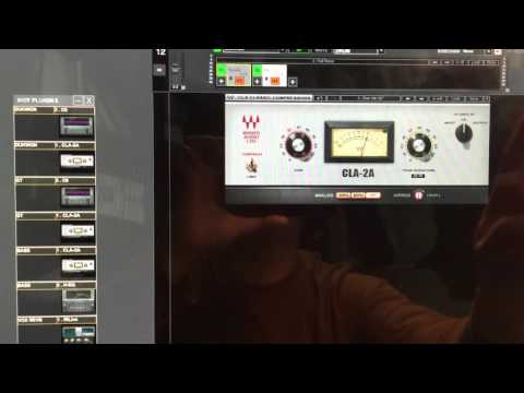 Waves Multirack Soundgrid Touch Control On Mac - YT