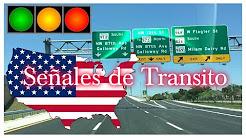 Señales de Transito en Estados Unidos  para Examen de Conducir