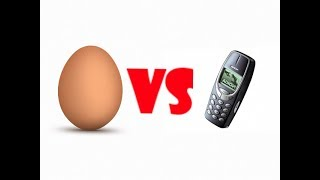 Яйцо vs Телефон!!! Вызов принят!