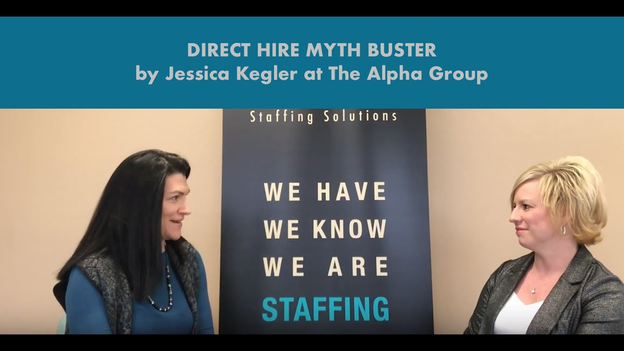 Employment Myth Buster by Jessica: How Expensive is Direct Hire / Permanent Placement really?