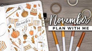 PLAN WITH ME | November 2018 Bullet Journal Setup