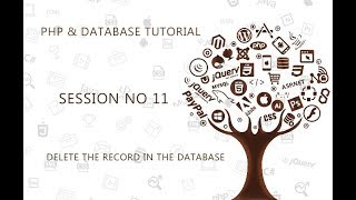 PHP TUTORIAL FOR BEGINNERS   11   DELETE THE RECORD FROM THE DATABASE