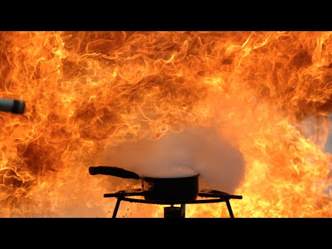 Explosive Oil Fire at 2500fps - The Slow Mo Guys