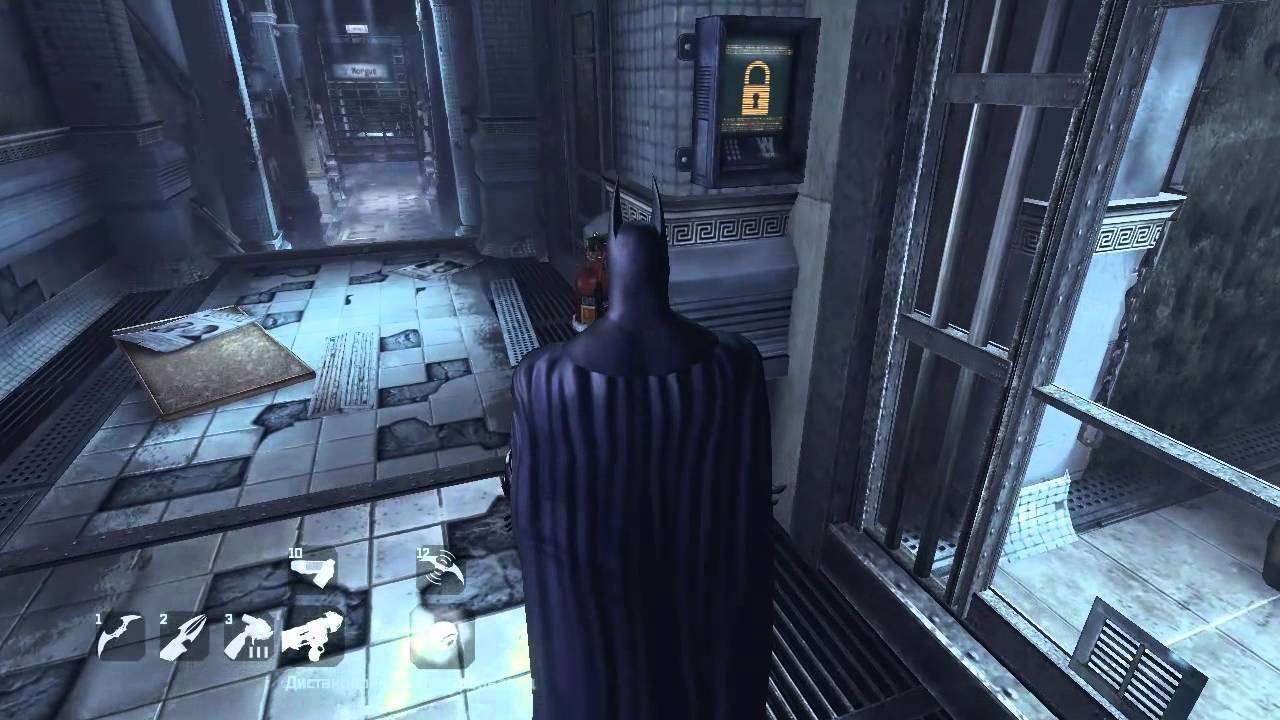 Batman arkham city попасть к фризу