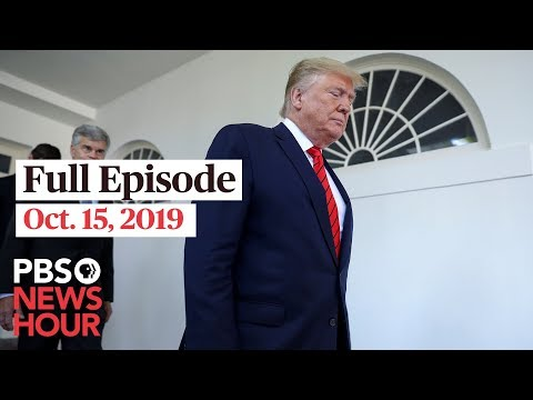 PBS NewsHour: PBS NewsHour West live show October 15, 2019