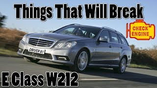 Mercedes E Class W212 Common Problems & Things That Will Break - A Buyers Guide vlog