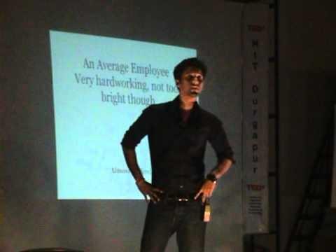 Journey of an Average Student: Durjoy Datta at TEDxNITDurgapur