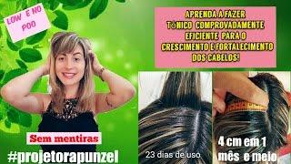 Super Tônico Capilar caseiro para crescimento acelerado dos cabelos