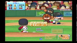 MLB Power Pros (Wii) World Series Game #2 Mets @ Red Sox