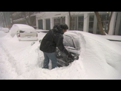 Storm causes record snowfall in Montreal