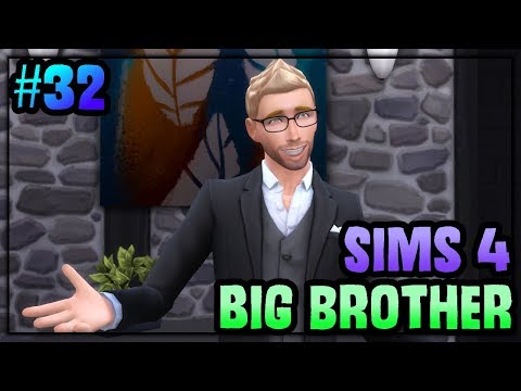 Sims 4 Big Brother Ep. 32  VETO CEREMONY & EVICTION