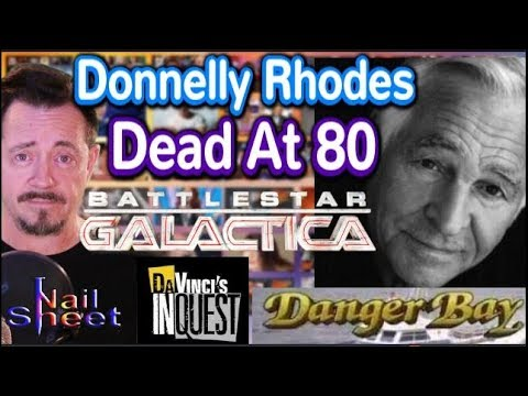 Donnelly Rhodes of Da Vinci's Inquest, Battlestar Galactica Dead at 80