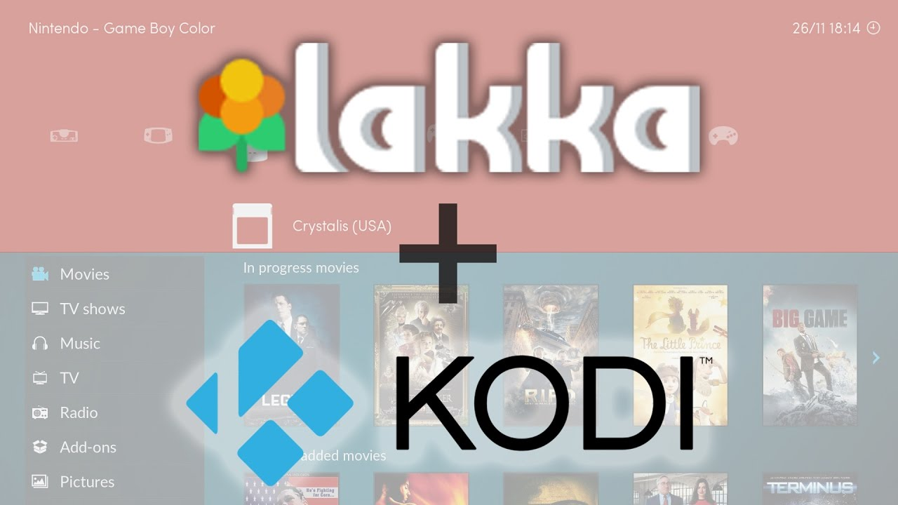 Lakka & KODI Dual Boot for Raspberry Pi