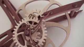 Clayton Boyer Model T Wooden Gear Clock