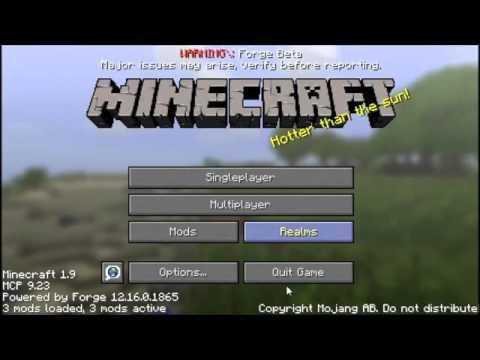 How to Download Minecraft 1 9 Mod JourneyMap