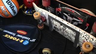 Backrack: Skateboard Car Trunk Rack