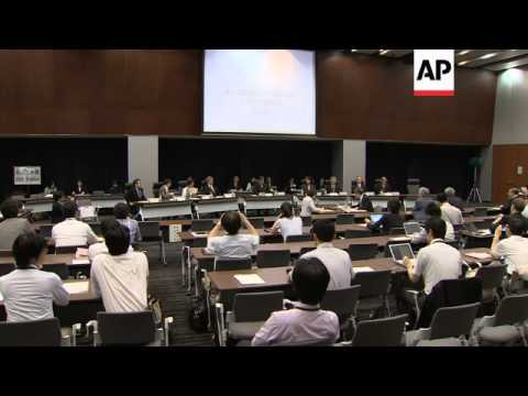 Commission issues report on Fukushima nuclear accident