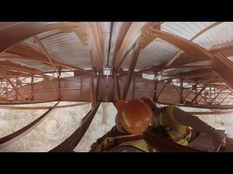NYSDOT Bridge Inspection in 360 - Virtual Reality