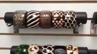 Wholesale Wood Bangles - African Jewelry - Part 2