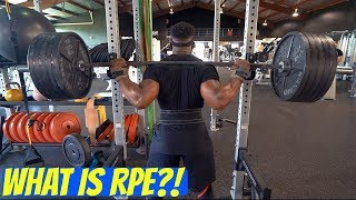 What Is RPE? | Discussing How I Train