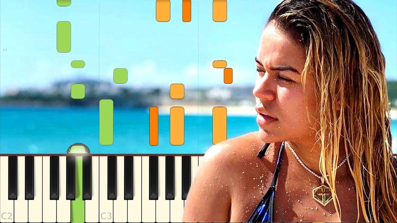 partitura ocean karol g piano pdf