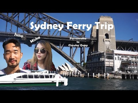 Sydeny Ferry Trip From Parramatta To Circular Quay