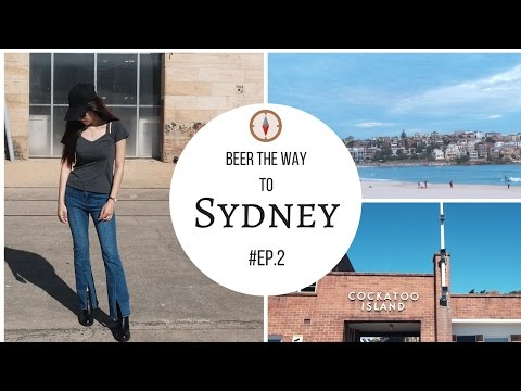 เที่ยวซิดนี่ย์กัน!!! Beer the way to Sydney EP.2 VLOG (Cockatoo Island, Manly Beach, Bondi Beach)