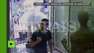 Attentat de Barcelone : une caméra de surveillance capte le moment de l'attaque