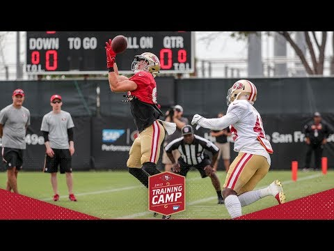 Camp Highlight: Trent Taylor's Highlight-reel Grab