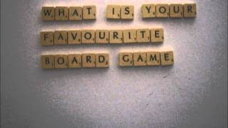 Board Games (Scrabble)