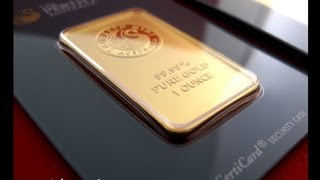 Perth Mint 1 oz Gold Bars