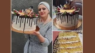 Торт для мужчины Торт с клубникой Տորթ տղամարդու համար Ելակով տորթ