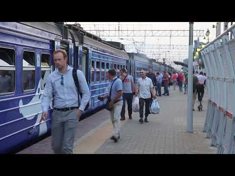 возгорание в вагоне электрички Москва - Пушкино