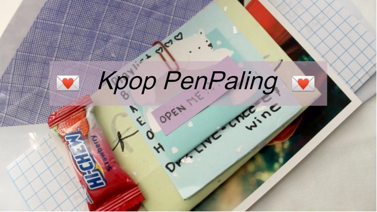 How I Make My Kpop Penpal Letters