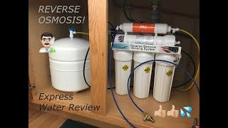Reverse Osmosis - Express Water 5 Stage Filtration System