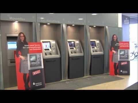Verbesserter Bargeldservice Der Sparkasse Ingolstadt Youtube