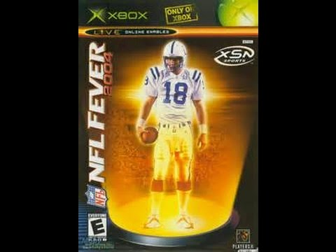 NFL Fever 2004 - Classic Gameplay 1st Half - XSN Sports - YouTube