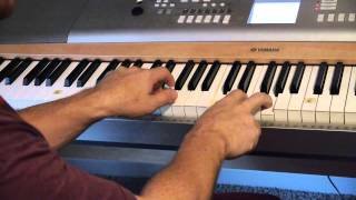 "Easy-to-Play Piano ""Here I Am to Worship"" - (Matt McCoy)"