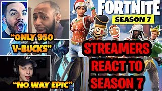 Streamers React to FORTNITE SEASON 7 Trailer & Battle Pass! Fortnite Battle Royale NEW SEASON