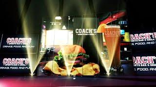 Coach's Sports Bar Tv Commercial: Futurelinemedia Website Design Company Houston Tyler Texas
