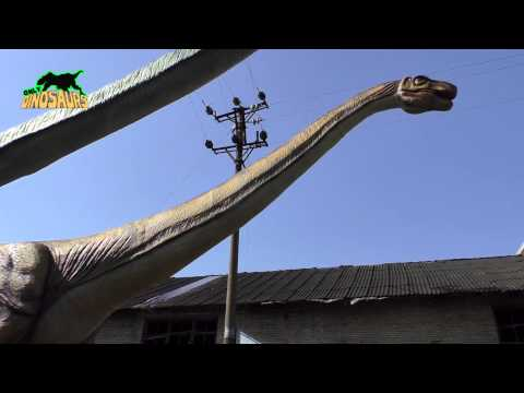 30 Meters Long Animatronic Argentinosaurus Model