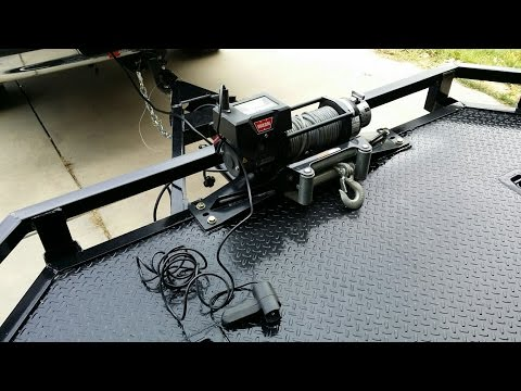 Trailer Winch Project   2014