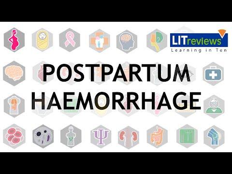 Prevention and Treatment of Postpartum Haemorrhage