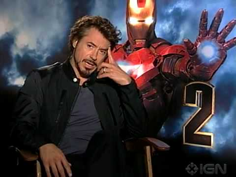 Iron Man 2 Interview By IGN - The Avengers Cast - YouTube